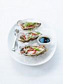 Austern mit asiatischen Aromen