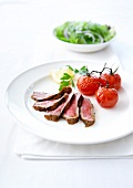 Brazilian-style marinated and grilled fillet of beef