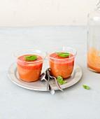 Gazpacho-style tomato smoothie