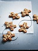 Crispy choco-hazelnut cookies