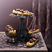 Choco-ginger Eclairs