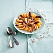 Clementine and date fruit salad