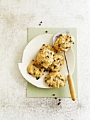 Oat-chocolate chip cookies