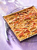 Three pepper quiches