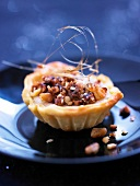 Mini walnut tartlet