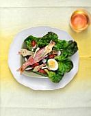 Red mullet Riviera salad