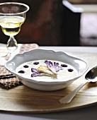 Express curried cauliflower soup