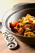 Lamb curry with Thai basil