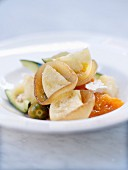 Capri-style onion and confit citrus salad