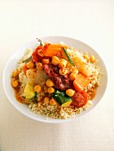 Vegetarisches Couscous