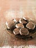 Sablés au chocolat (Schokoladen-Sandplätzchen, Frankreich)