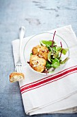 Kartoffel-Haselnuss-Bällchen