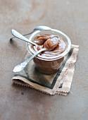 Homemade chestnut spread