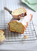 Petit-suisse,lemon and poppyseed loaf cake