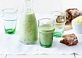Spinach and cucmber smoothie