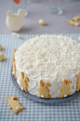Coconut cake for Easter
