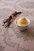 Vanilla-flavored butter cream