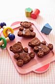 Chocolate almond bears