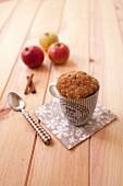 Apple cinnamon mugcake