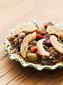 Gemüse-Tajine mit Salzzitronen und Oliven