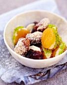 Caramelized fruit