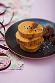 Spicy dried fig foie gras