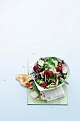 Fancy Crottin de Chavignol salad