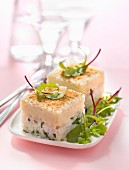 Cauliflower and halibut fish pie