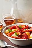Plougastel strawberry fruit salad