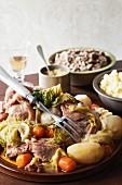 Kig Ha Farz (Traditioneller Fleisch-Gemüse-Eintopf aus der Bretagne)