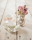 Flowery English teatime
