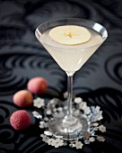 Lychee-apple cocktail