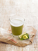 Cucumber and Lime Smoothie