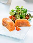 Salmon Terrine Slices