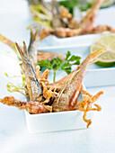 Frittierte Fischlein auf andalusische Art