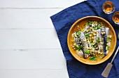 Moroccan-style sardines