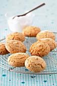Amaretti (Italian almond biscuits)