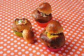 Stuffed brioches