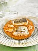 Cod with Marinière sauce