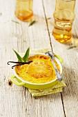 Pineapple Crème brûlée
