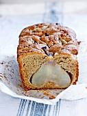 Whole pear cake