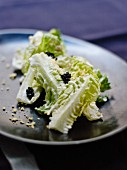 Sucrine with caviar