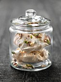 Dried fruit meringues
