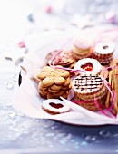 Assortment of Christmas biscuits