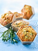 Summer vegetable and ricotta mini savoury cakes