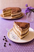 Layer Cake nach Art von Tiramisu