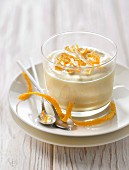 Orange and confit citrus mousse