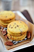Soft pecan cookies