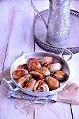 Oriental-style stuffed onions