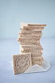 Selbgebackenes Toastbrot für Clubsandwiches